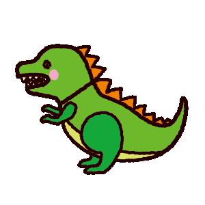 恐竜のおもちゃのイラスト(3カット)