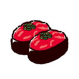 お寿司のイラスト(ネギトロ)(2カット)