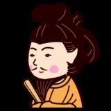 聖徳太子の似顔絵イラスト