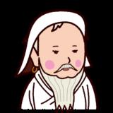 チンギスハンの似顔絵イラスト