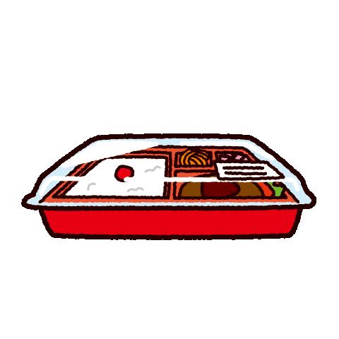 コンビニ弁当のイラスト イラストくん