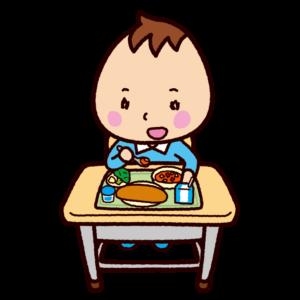 給食のイラスト