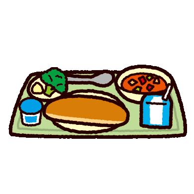学校給食のイラスト(パン)