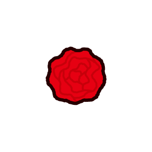 紙花のイラスト(6カット)