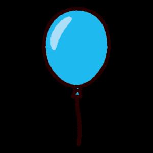 風船のイラスト