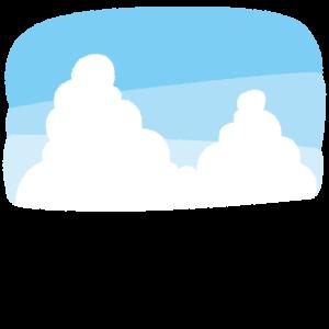 空の背景イラスト