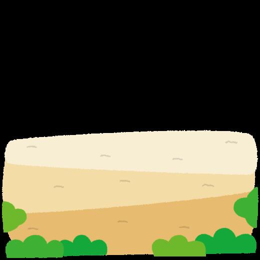背景イラスト(地面)