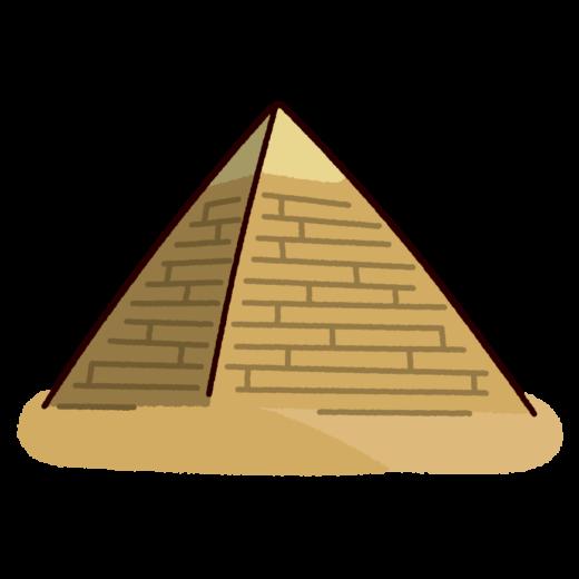 ピラミッドのイラスト