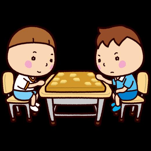 将棋のイラスト(学校)
