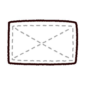 掃除のイラスト(雑巾)