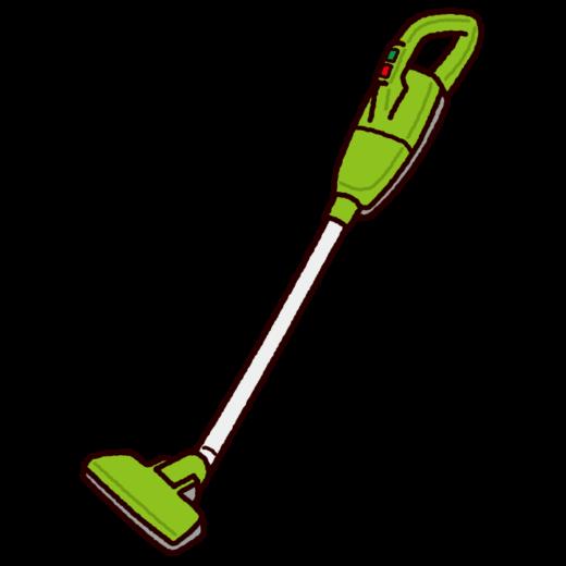 掃除機のイラスト(コードレス)