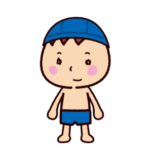 水着のイラスト(男の子)