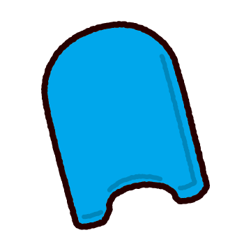 ビート板のイラスト