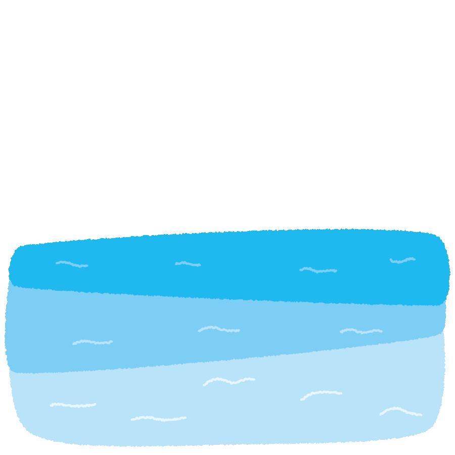 背景イラスト(海) | イラストくん
