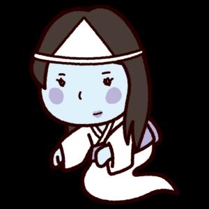 おばけのイラスト(幽霊)