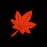 紅葉の葉のイラスト