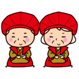 還暦のイラスト(敬老会)