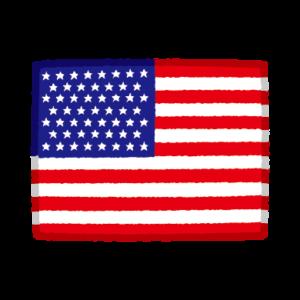 国旗のイラスト(アメリカ)