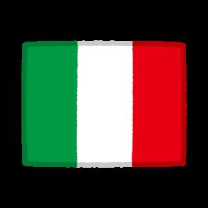 国旗のイラスト(イタリア)