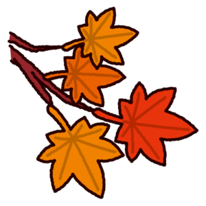 紅葉のイラスト