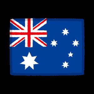 国旗のイラスト(オーストラリア)