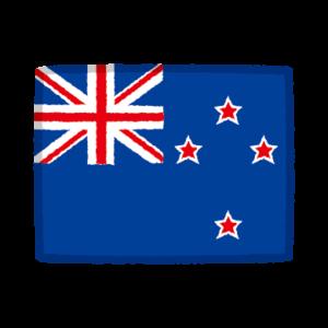 国旗のイラスト(ニュージーランド)