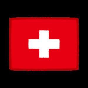 国旗のイラスト(スイス)