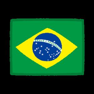 国旗のイラスト(ブラジル)