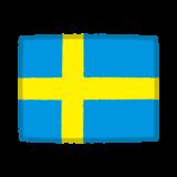 国旗のイラスト(スウェーデン)