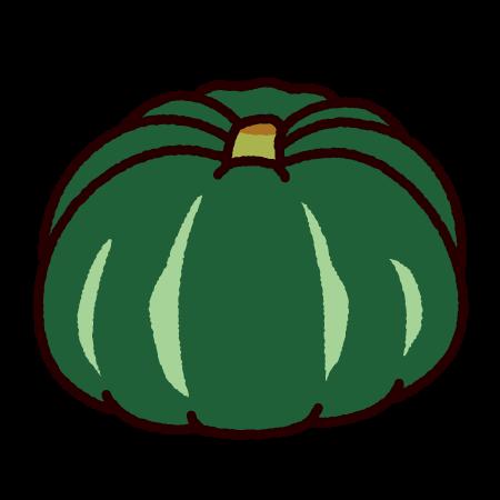 かぼちゃのイラスト(野菜)