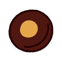 クッキーのイラスト(ハロウィン)