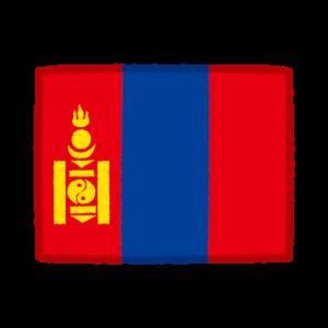 国旗のイラスト(モンゴル)