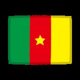 国旗のイラスト(カメルーン)