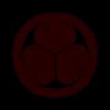 家紋のイラスト(葵紋・徳川葵)