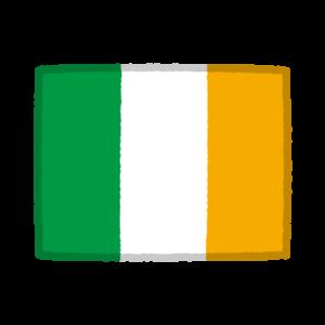 国旗のイラスト(アイルランド)