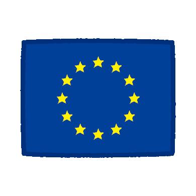 欧州旗のイラスト