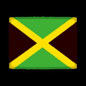 国旗のイラスト(ジャマイカ)