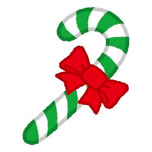 クリスマスのイラスト(キャンディ)