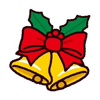 クリスマスのイラスト(ベル)