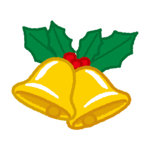 クリスマスベルのイラスト