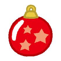 クリスマスのイラスト(オーナメント)