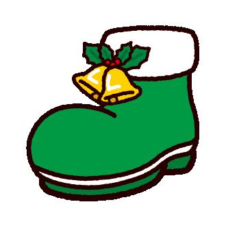 クリスマスのイラストブーツベル イラストくん