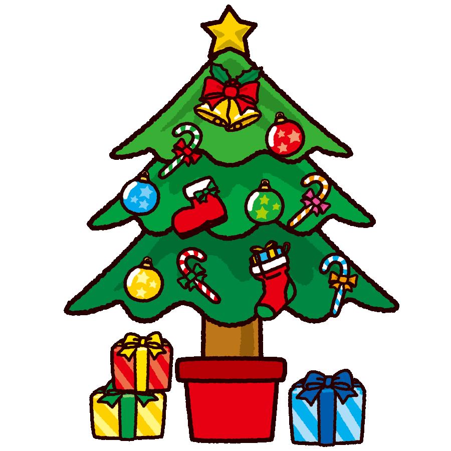 「クリスマスツリー イラスト」の画像検索結果