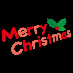 文字のイラスト(merry christmas)