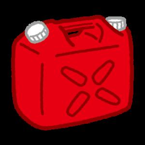 灯油缶のイラスト(ポリタンク)