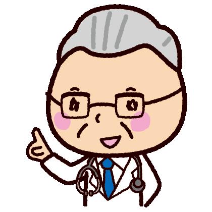 説明するイラスト(医者・ドクター・女医)