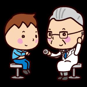 診察のイラスト(医者・ドクター・女医)