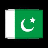 国旗のイラスト(パキスタン)
