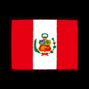 国旗のイラスト(ペルー)