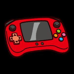 携帯型ゲーム機のイラスト